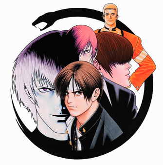 Imagenes ineditas king of fighters [ 94 a 2001 ] parte 1